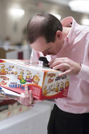 Chris Heusch Packaging Competition Judging