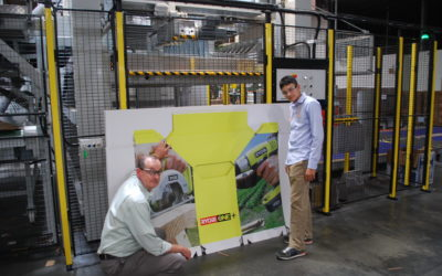 With Matthew @ Peachtree Packaging