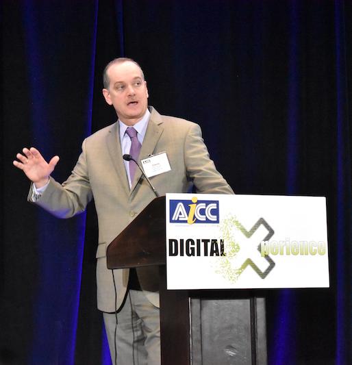 Chris Heusch presents at AICC's Digital Xperience